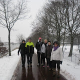 Wandeling maandagtrimgroep, 21-01-2013