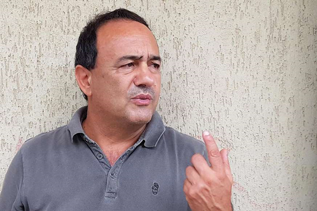"Domenico Lucano, the mayor of the southern Italian town of Riace, was placed under house arrest in October 2018 on suspicion of facilitating illegal migration. He was accused of arranging ""marriages of convenience"" to allow migrants to remain in Italy, among other charges. Photo: Franck Lovene"