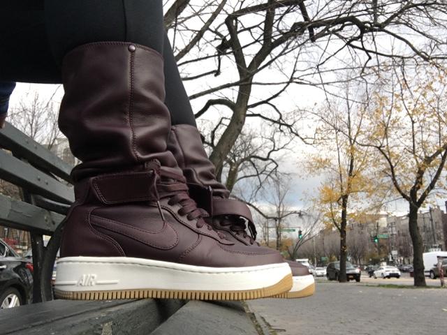best authentic 17ddd 6436b SoleSense : On Feet: Nike Air Force 1 Upstep Warrior Sneakerboot