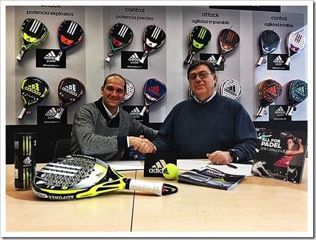Seba Nerone y Adidas Pádel unen sus fuerzas para la temporada 2018.