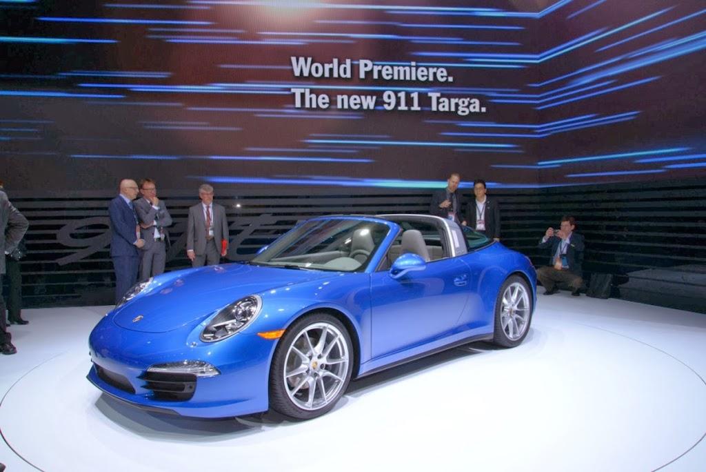 2014 Porsche 911 Targa 4 NAIAS 2