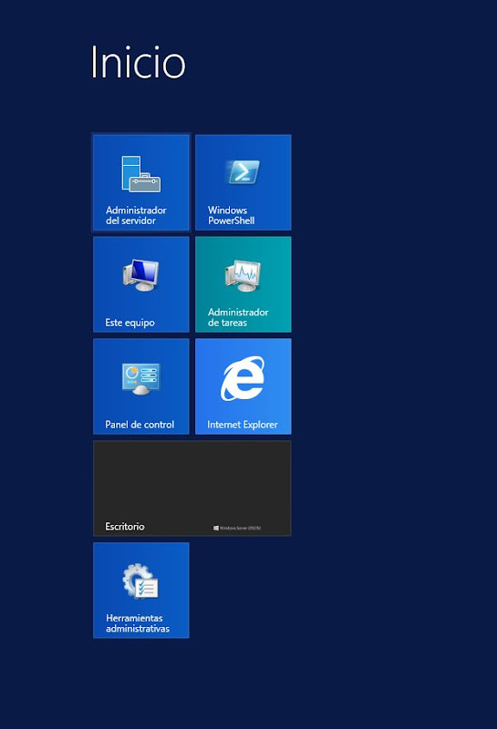 Instalar rol de Escritorio Remoto con RemoteApp en Windows Server 2012 R2