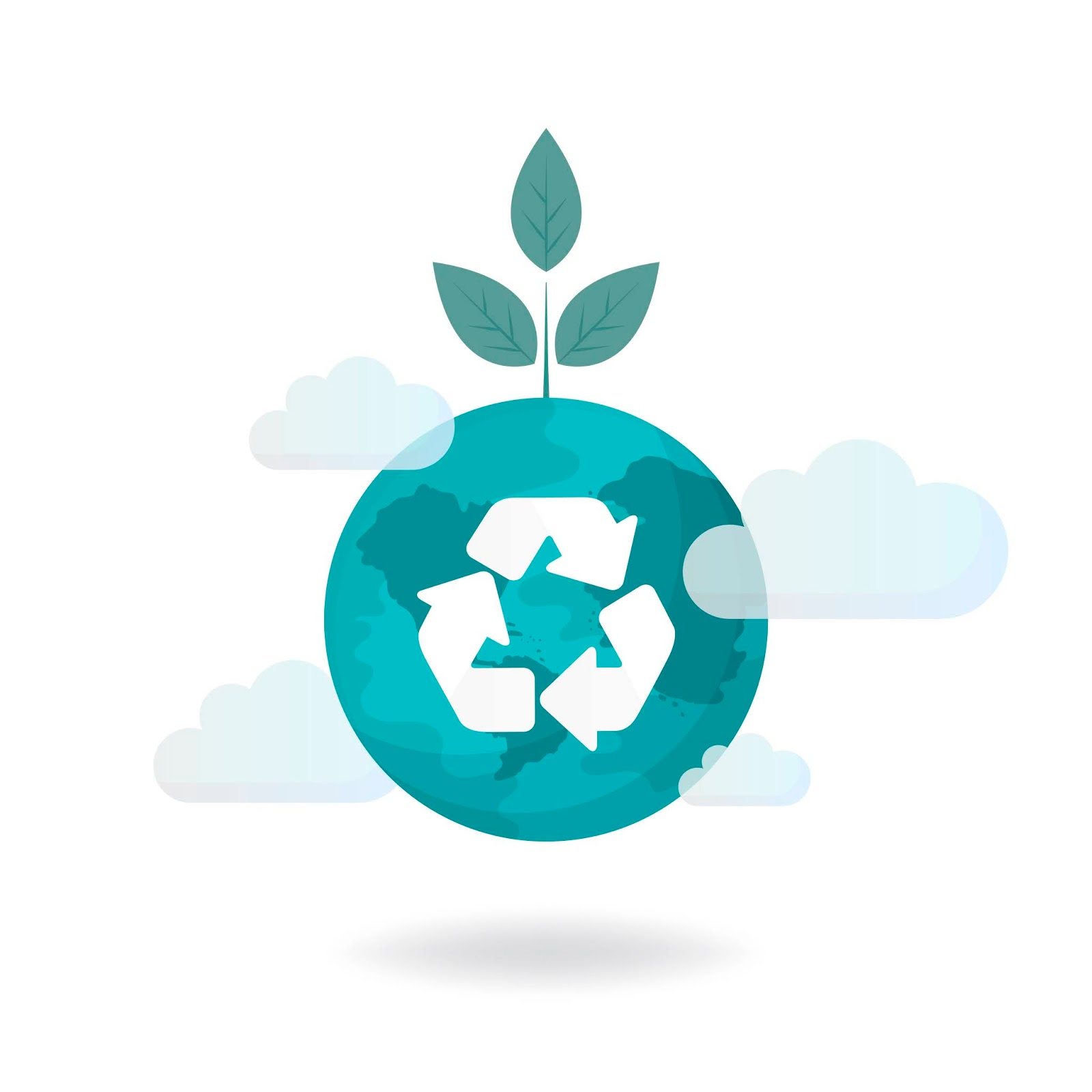 Recycle Symbol Environmental Free Download Vector CDR, AI, EPS and PNG Formats