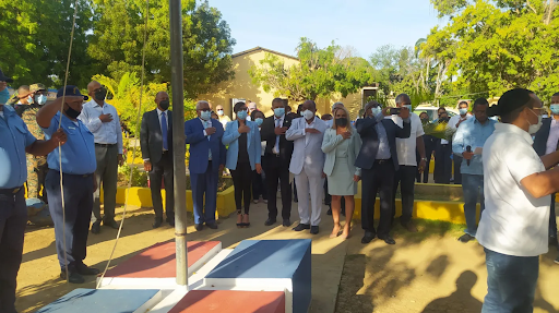Montecristi: Ministerio de Educación realiza acto apertura año escolar 2021-2022.