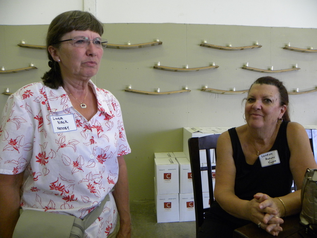Linda Black, Sharon Bradway