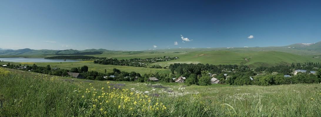 Bergwelt am Iakublo Stausee