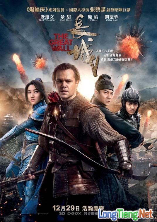 Những lý do không thể bó qua của siêu phẩm hành động The Great Wall - Ảnh 1.