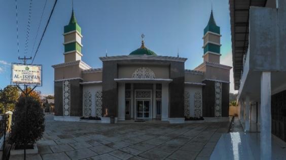 Pesona Masjid Al-Ikhwan Koto Rajo Kabupaten Pasaman