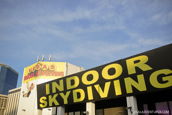 Las Vegas Indoor Skydiving // Fun Things to Do in Vegas.