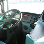 Het dashboard van deWrightbus Commander van Arriva