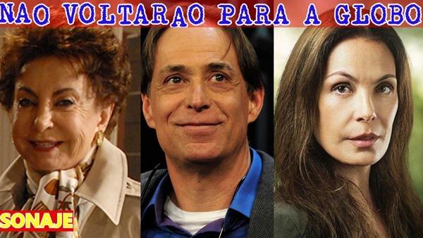 Atores que jamais voltarão a trabalhar na Globo novamente