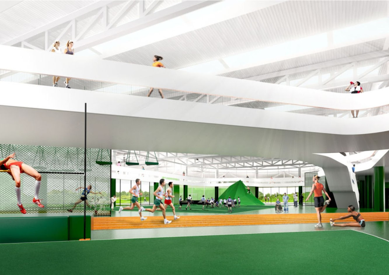 Multi Sport Centre by CEBRA