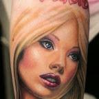 barbie arm - tattoos for men