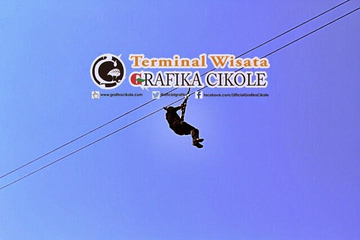 Flying Fox - Terminal Wisata Grafika Cikole