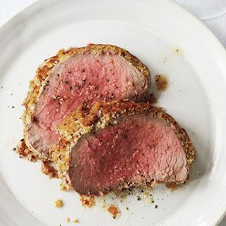 Roast Beef Tenderloin with Caesar Crust