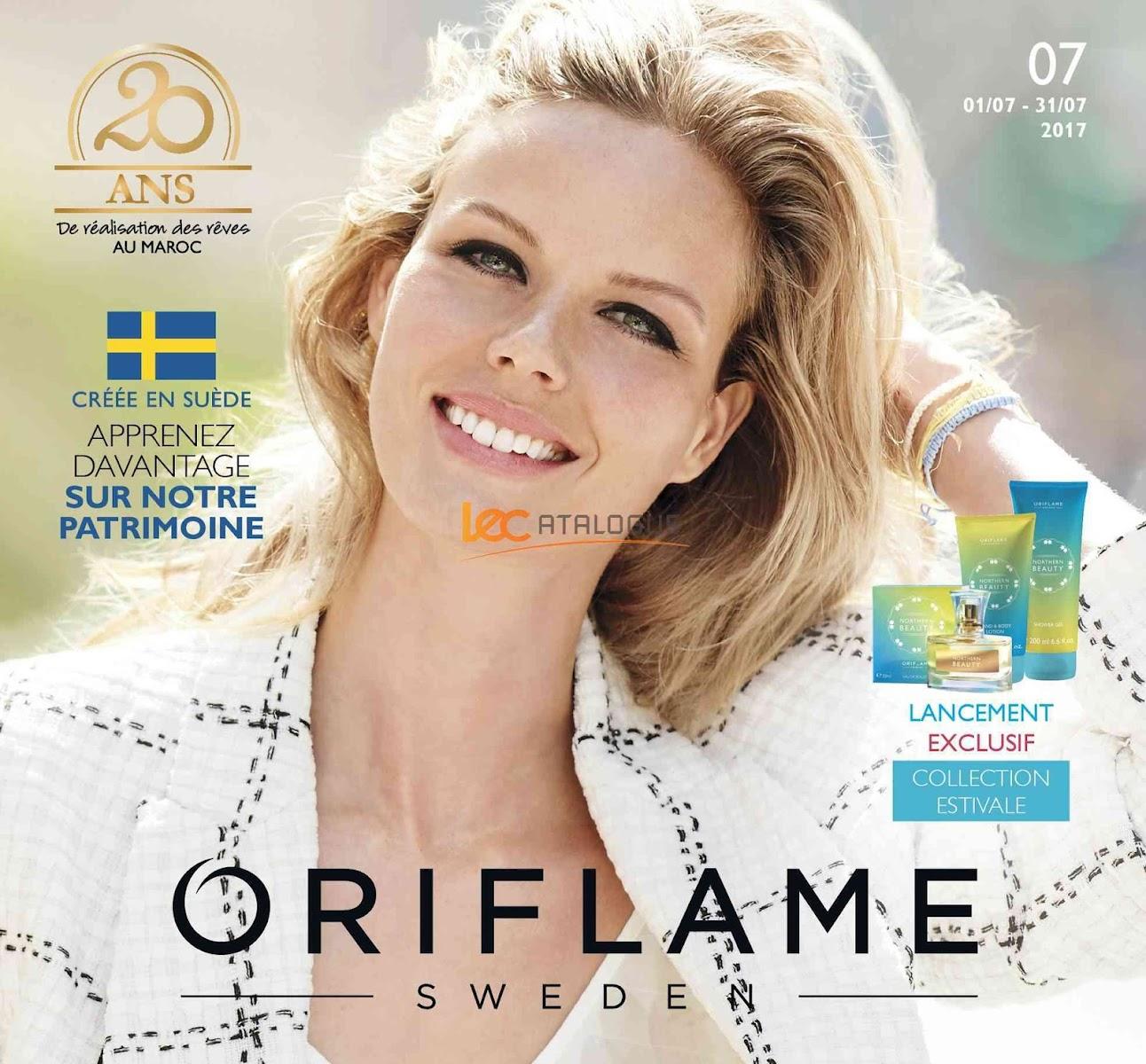 catalogue oriflame maroc juillet 2017