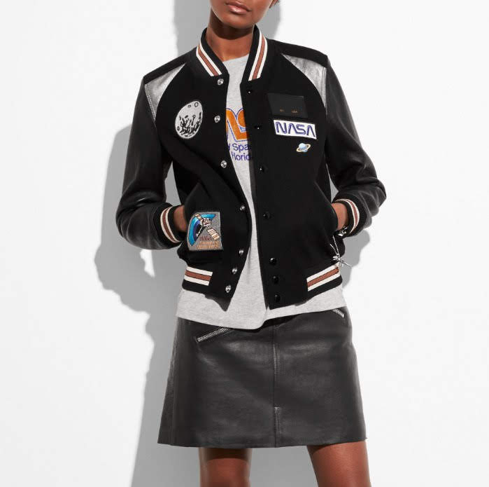 Space Varsity Jacket Nasa Coach