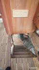 3段目の階段を上がって振り返ると、ここにコンセプトボードがある。