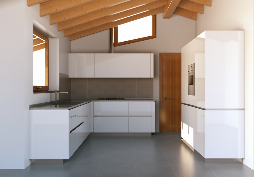 Progettazione arredamento con rendering 3d carminati e sonzogni - Cucina progetto ...