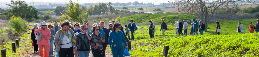 Экскурсия по реке Яркон в Израиле