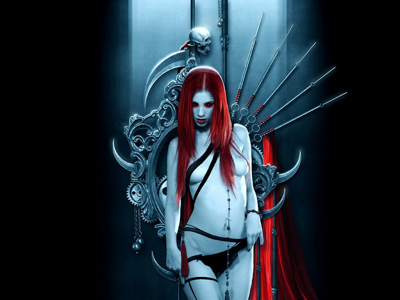Red Evil Fantasy Demoness, Magic Beauties 1
