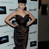 WWW.ENTSIMAGES.COM -  Viktoria Modesta    at   Chortle Comedy Awards at Café de Paris, Coventry Street, London, March 25th 2013                                                 Photo Mobis Photos/OIC 0203 174 1069