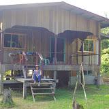 La maison à Sukau (Sabah, Malaisie), 1er août 2011. Photo : J.-M. Gayman