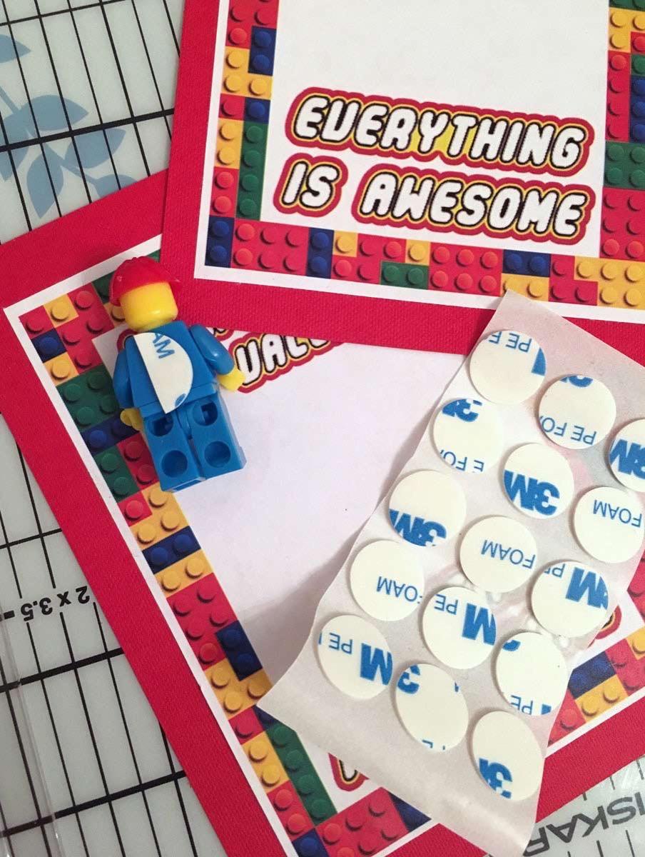 Minifig lego valentine printable