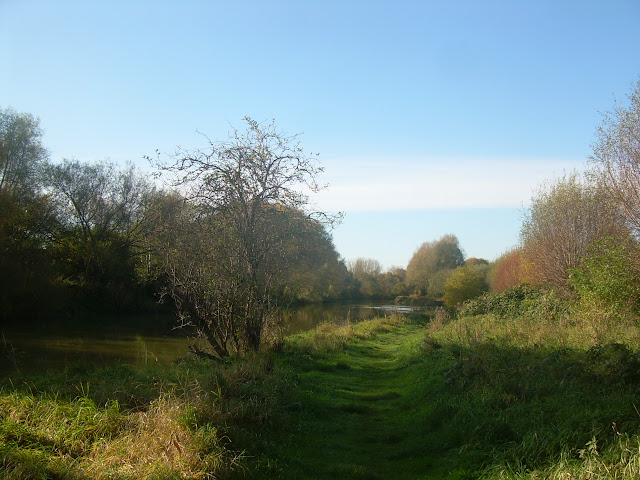 The River Nene, west of Peterborough
