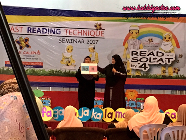 LITTLE CALIPH FAST READING TECHNIQUE SEMINAR 2017 7