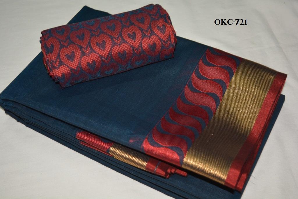 4c7a823dc99d8 PB   Kora Cotton Saree  Rs. 1400