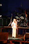 A young performer