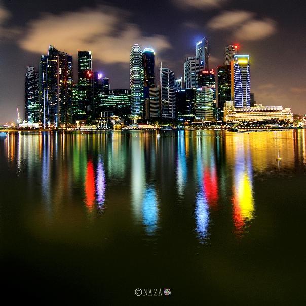 Marina Night Lights