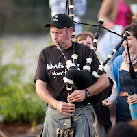 Piping in the talent - by Peter Redman