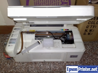 How to reset Epson CX2900 printer