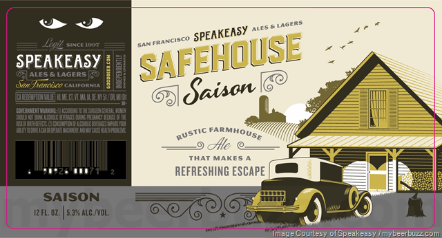 Speakeasy Adding Safehouse Saison