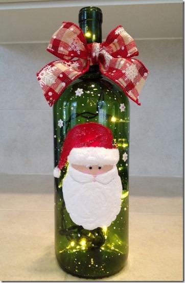 decorar botellas navidad todonavidad info (14)