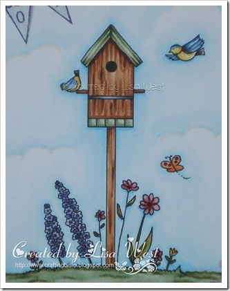Birdhouse Flowers  (3)