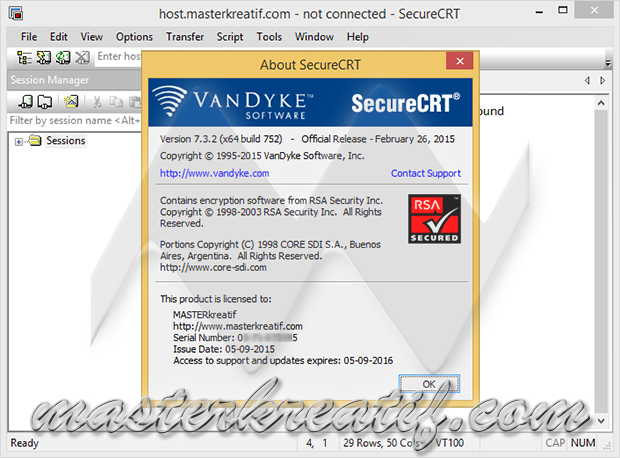 SecureCRT 7.3