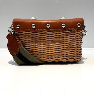 Sonia Rykiel Crossbody Basket Bag
