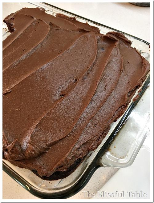 zucchini chocolate cake 7a