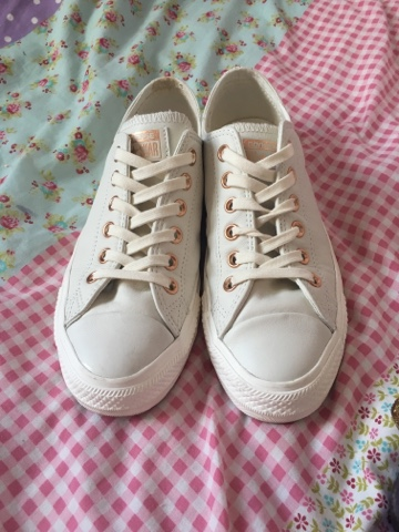 converse egret rose gold
