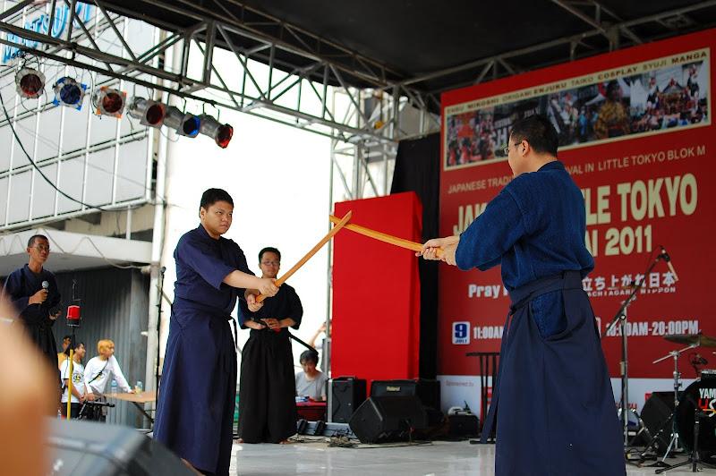 Samurai di Ennichisai Blok M