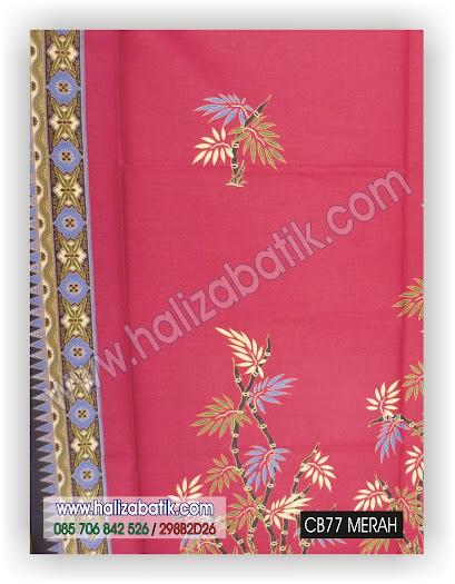 Kain Batik, Kain Batik Murah, Batik Modern, CB77 MERAH