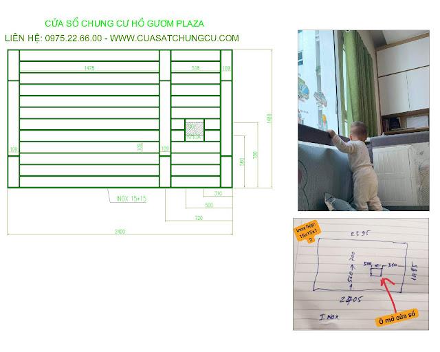 Cách thức đo đạc và bản vẽ cửa sổ chung cư