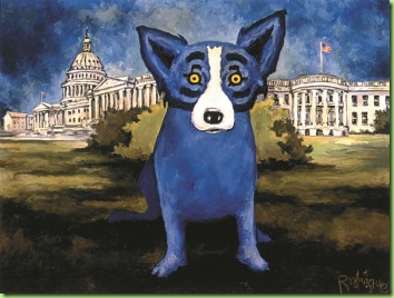 Washington Blue Dog