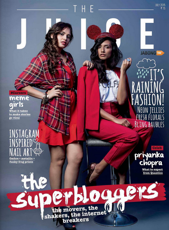 Superbloggers from The Juice Magazine - July 2015 edition