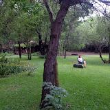 Beautiful surroundings during language week in Shakawe