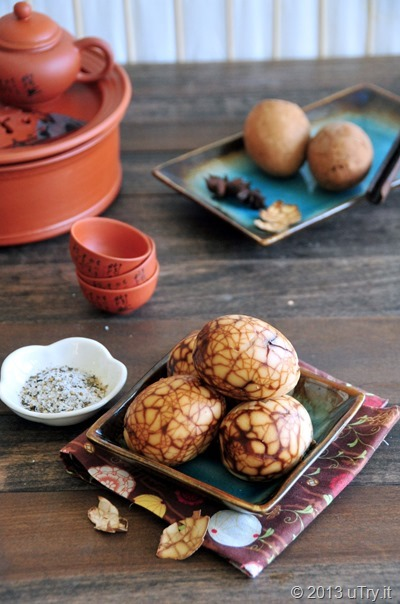 Chinese Tea Eggs (糖心茶葉蛋)