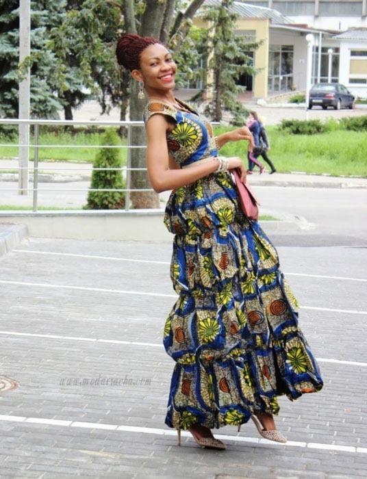 Long Ankara Gown Style (10)
